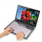 AUO Solar Powered Touch Notebook Keyboard