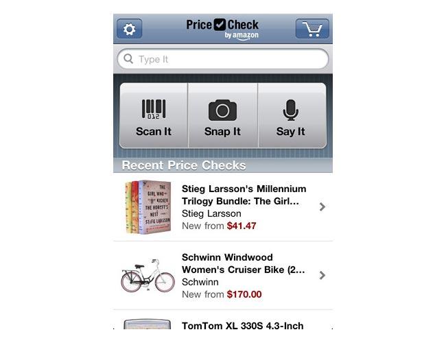 Amazon Price Check App