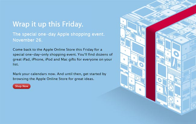 Apple Special Shopping Event Friday 26th