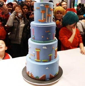 Awesome Super Mario Bros Cake
