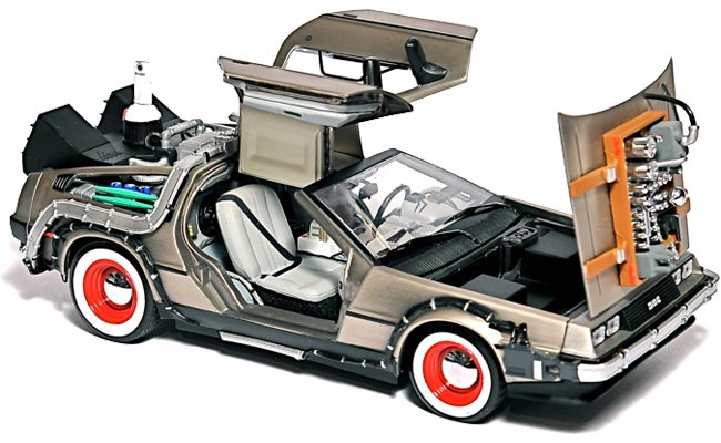 Back To The Future DeLorean Hard Drive