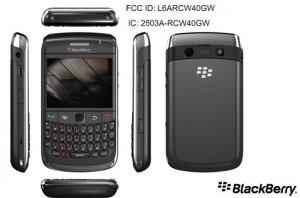 BlackBerry Curve 8980 Appears At The FCC