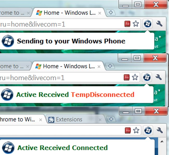 Chrome to WP7