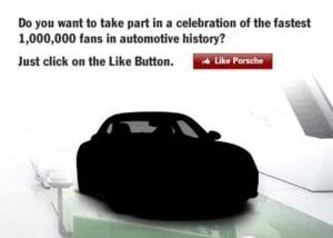Facebook Porsche