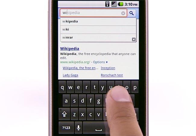 Google Instant Mobile