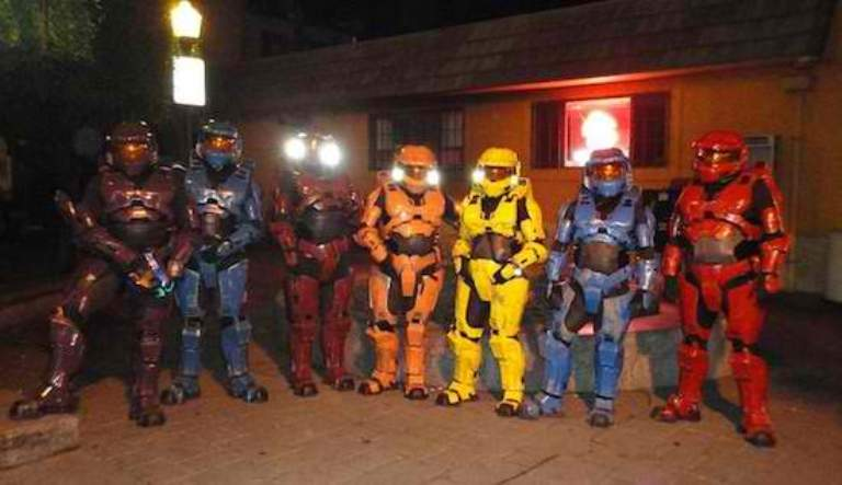 Halo Hards Build Awesome Diy Costumes