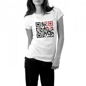 I Heart New York QR T-Shirt By Reece Ward