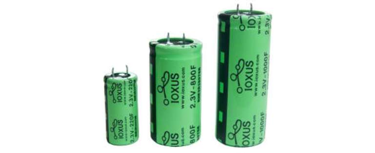 Ioxus Ultracapacitor battery