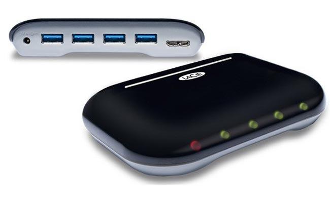 LaCie's Hub4 USB 3.0