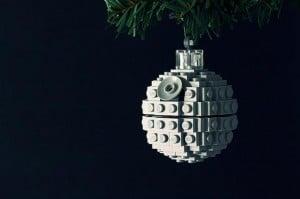 Lego Death Star Tree Ornament