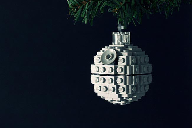 Lego Death Star Ornament