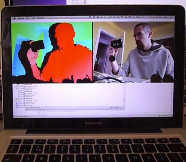Mac Kinect hack