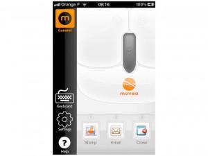 Movea iPhone App
