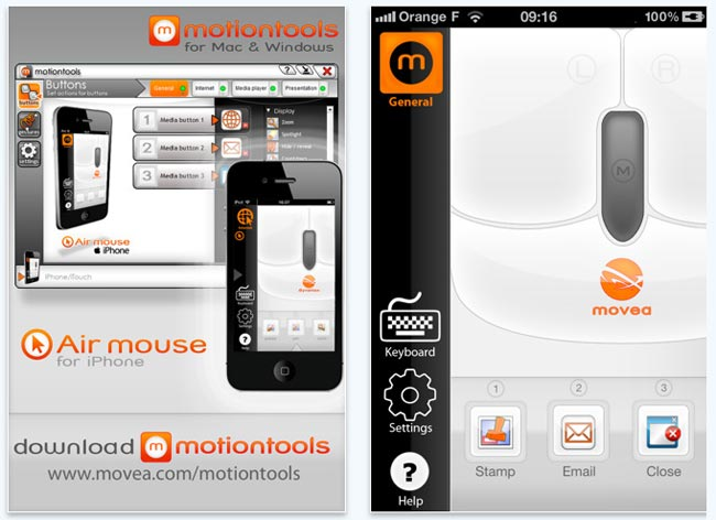 Air Mouse App
