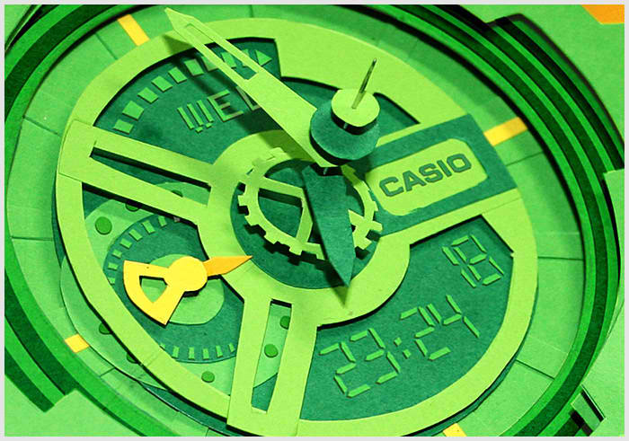 Paper Casio G-Shock