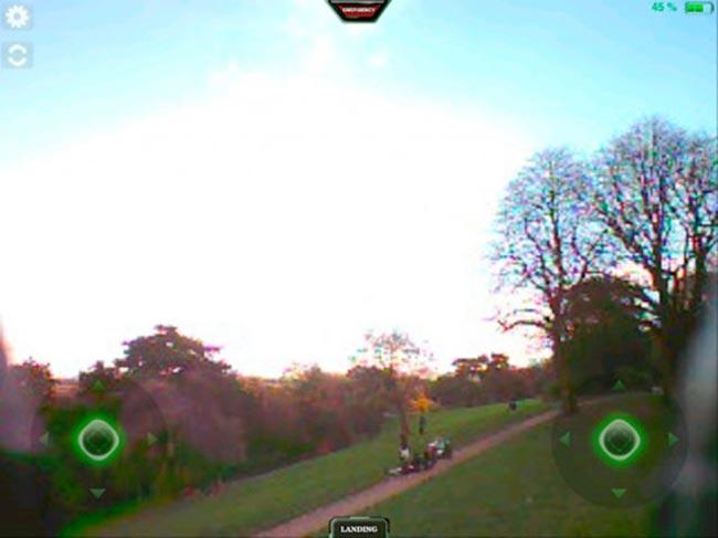 Parrot's AR.Drone Free Flight