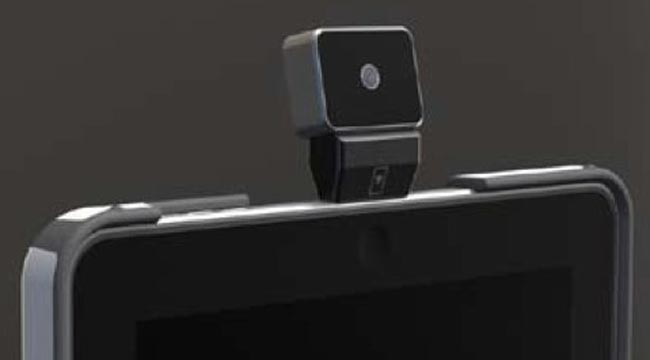 Scosche iclops ipad webcam and iphone pico projector dock for Best pico projector for ipad 2