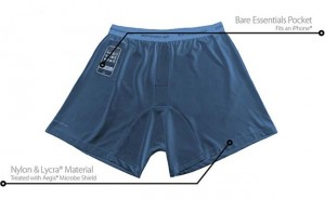 Scottevest Travel Boxers Feature An iPhone Pouch