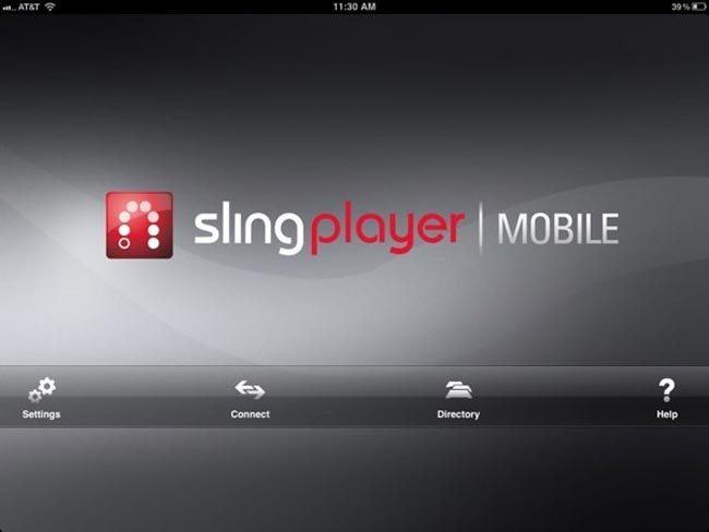 SlingPlayer iPad