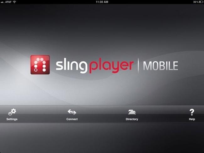 SlingPlayer iPad