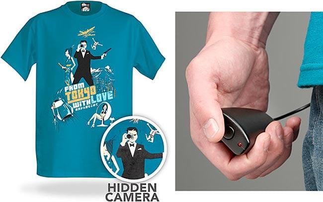 Spy Camera T-shirt