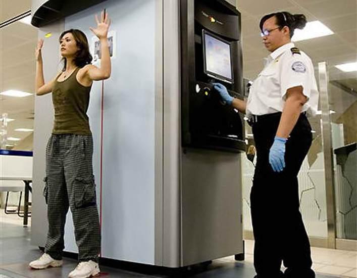 TSA body scan