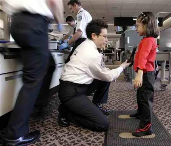 TSA pat down