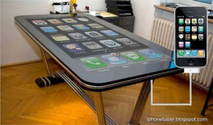 Table Connect Mutitouch iPhone Table In Action (Video)