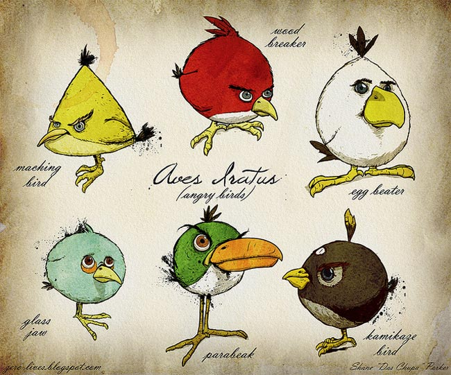 An Ornithological Documentation of Angry Birds