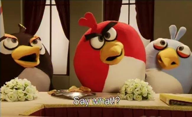 Angry Birds Peace Talks