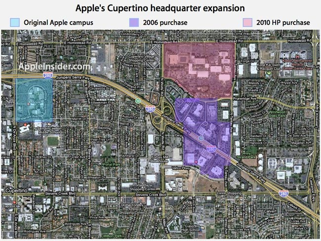 Apple Buys HP Campus In Cupertino