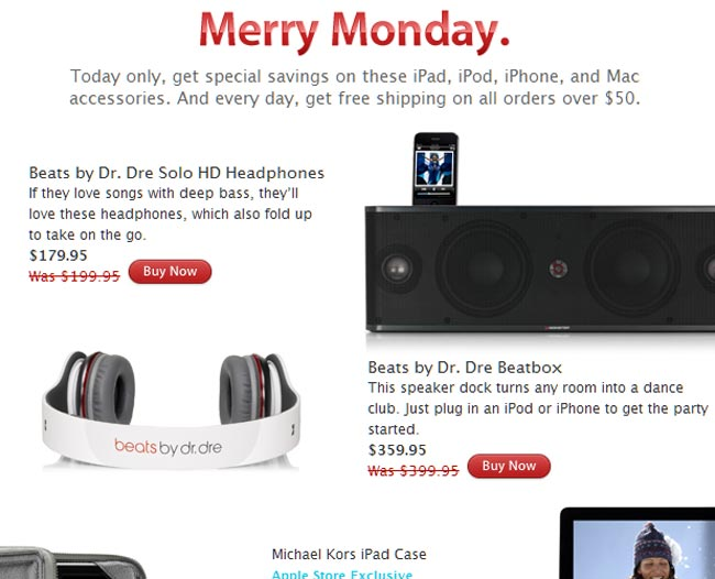 Apple Merry Monday