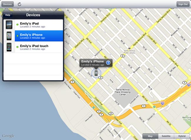 Apple's Find My iPhone Service Now Free