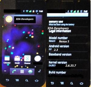 Google Nexus S Caught On Camera Again