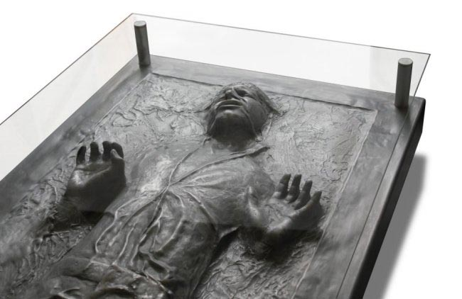 Han Solo In Carbonite Coffee Table