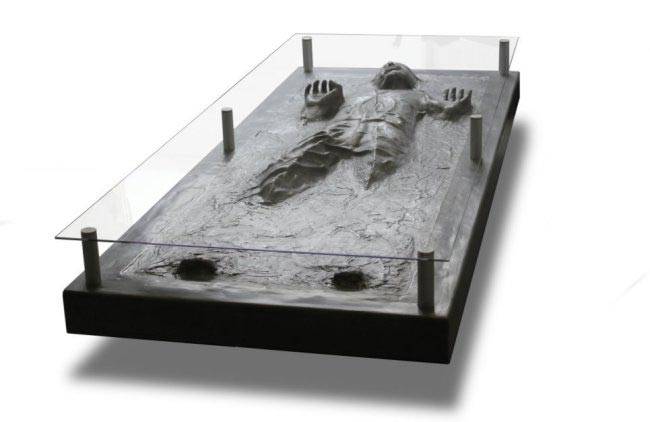 solo in carbonite coffee table