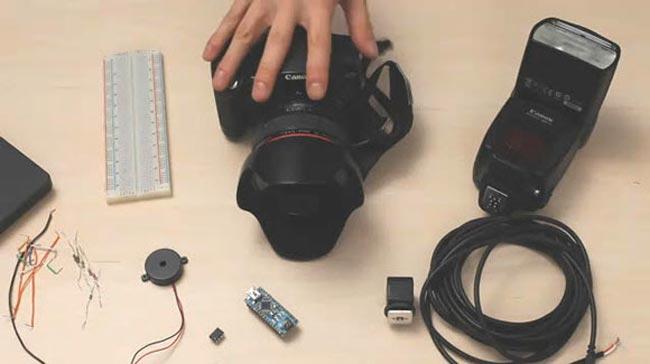 high speed camera trigger