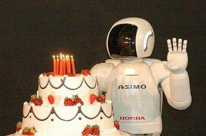 Honda's Asimo Robot Is 10 years Old