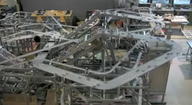 The Worlds Largest Hot Wheels Car Track Video