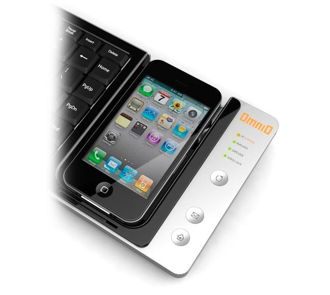 iPhone Omnio WOWKeys Eee Keyboard