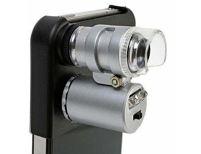 iPhone 4 Microscope Adapter