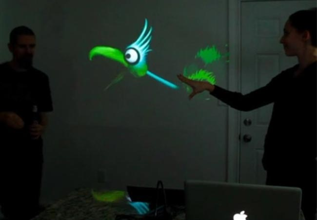 kinect hand puppets
