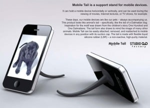 Mobile Tail is Proof Cruella de Vil Designs iPhone Accessories