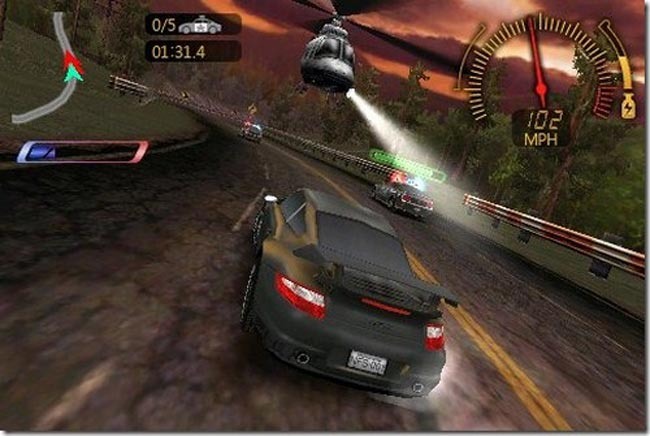 Need For Speed Windows Phone 7