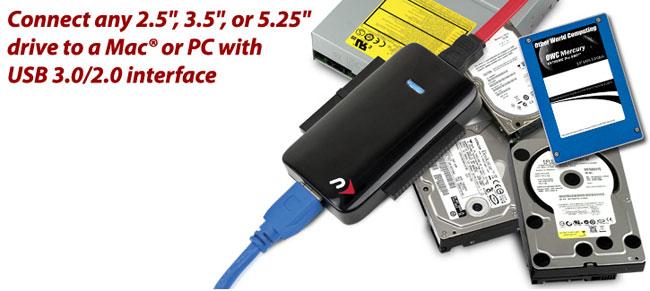 USB 3.0 Universal Drive Adapter
