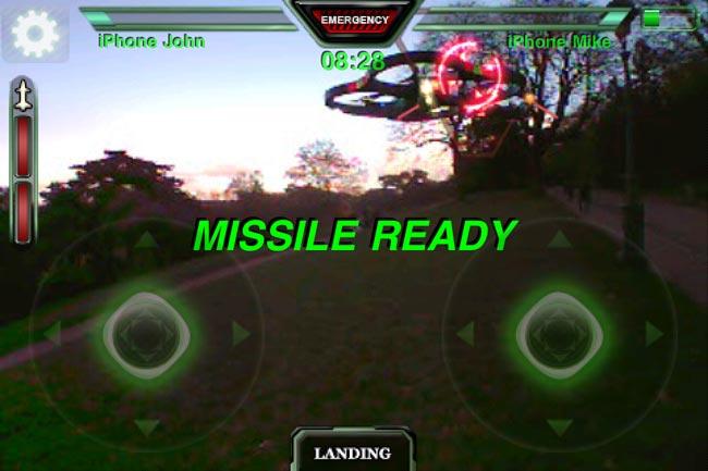 AR Pursuit iPhone Game