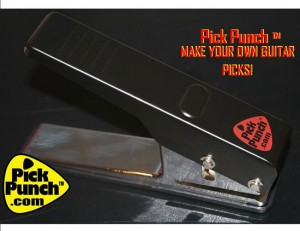 Pick Punch Makes Guitar Picks DIY Style