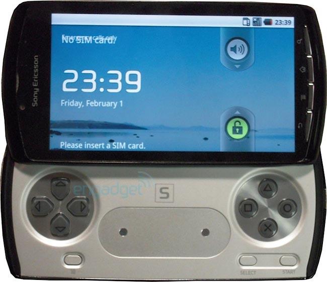 Sony Ericsson PlayStation Phonev