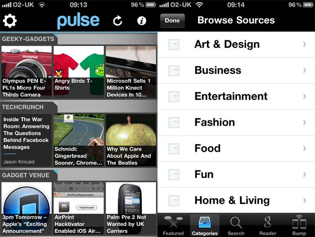 Pulse News Reader