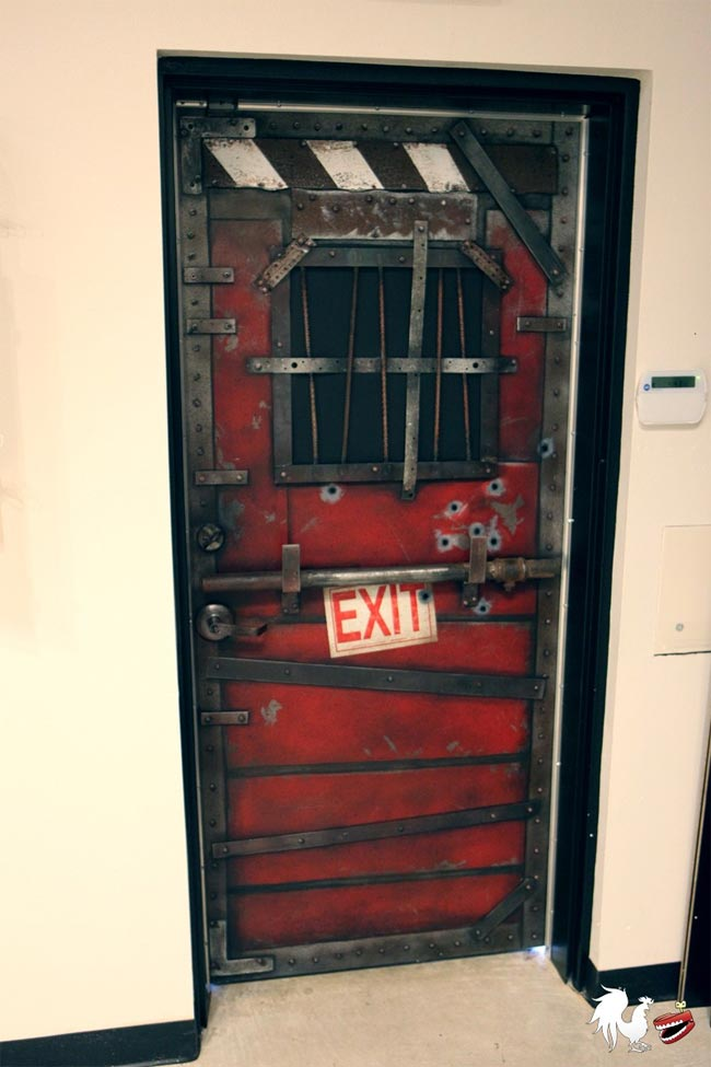 Zombie Safehouse Door